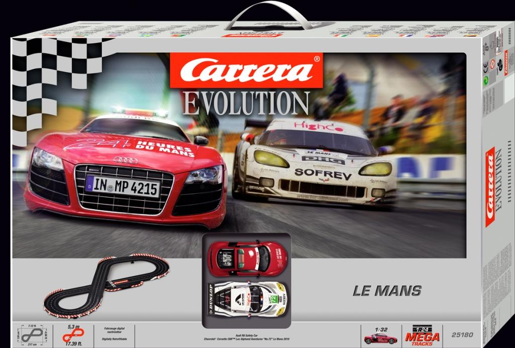 auto.de-Weihnachtsgewinnspiel: Carrera Le Mans Evolution