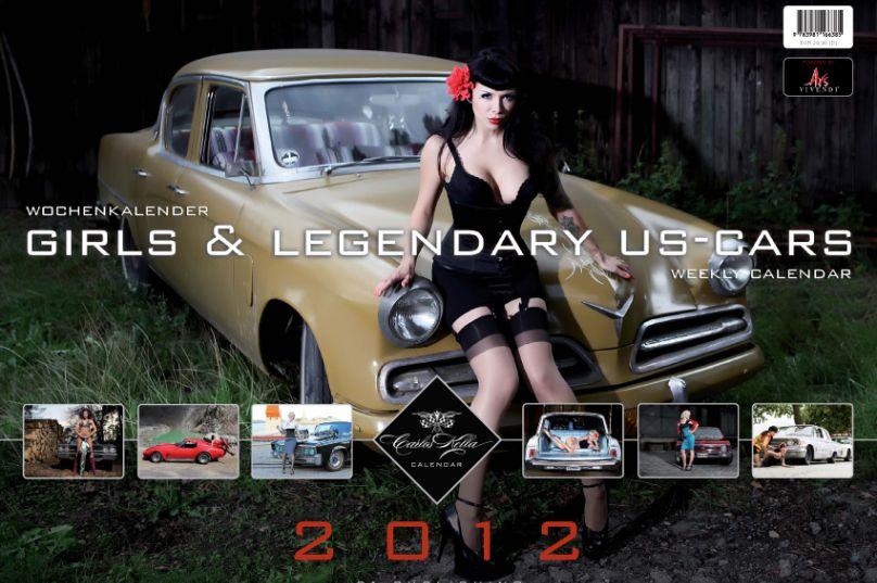 "auto.de-Weihnachtsgewinnspiel: ""Girls & Legendary US-Cars"" Kalender 2012"