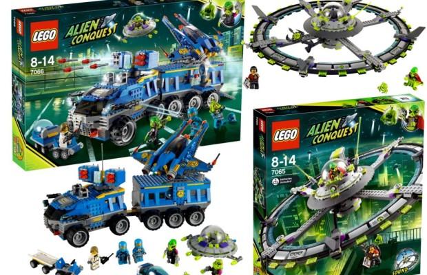 auto.de-Weihnachtsgewinnspiel: Lego Ufo und Abwehrfahrzeug