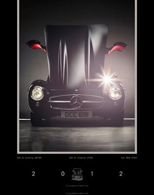 auto.de-Weihnachtsgewinnspiel: Mercedes-Benz 300 SL Kalender 2012