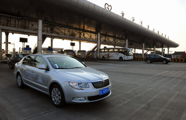 Škoda Superb stellt Spritsparrekord in China auf