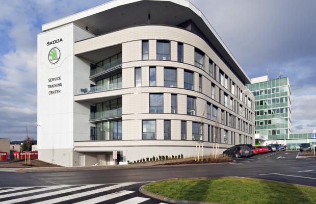 Škoda eröffnet Service-Training-Center