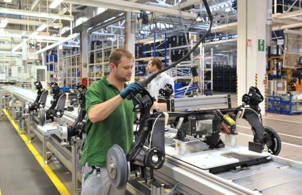 Škoda nimmt erweiterte Hinterachsen-Produktionslinie in Betrieb
