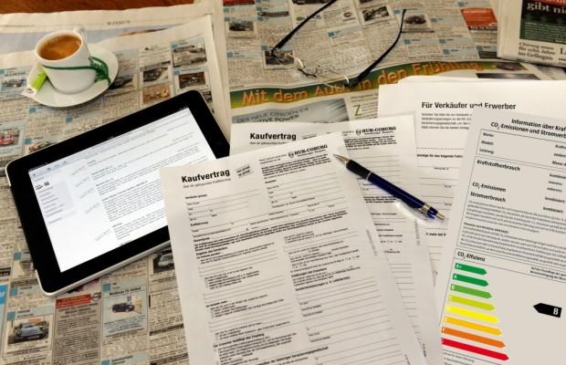Ärgernis Effizienzlabel - Online-Kfz-Börsen nicht betroffen