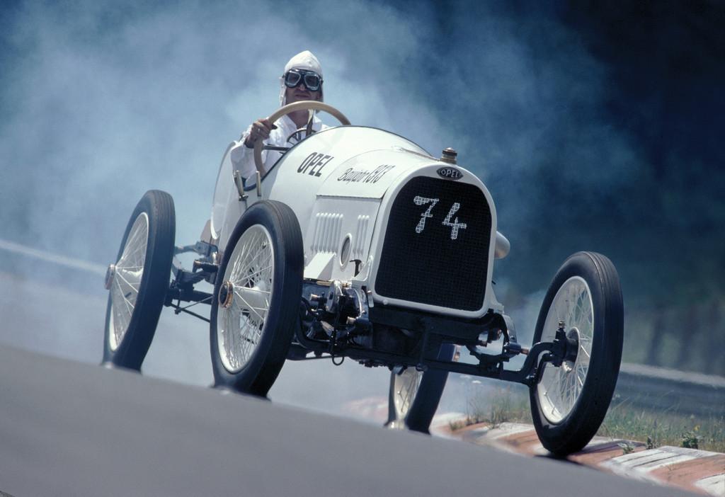 150 Jahre Opel: Opel 110 PS Grand-Prix-Rennwagen von 1913.