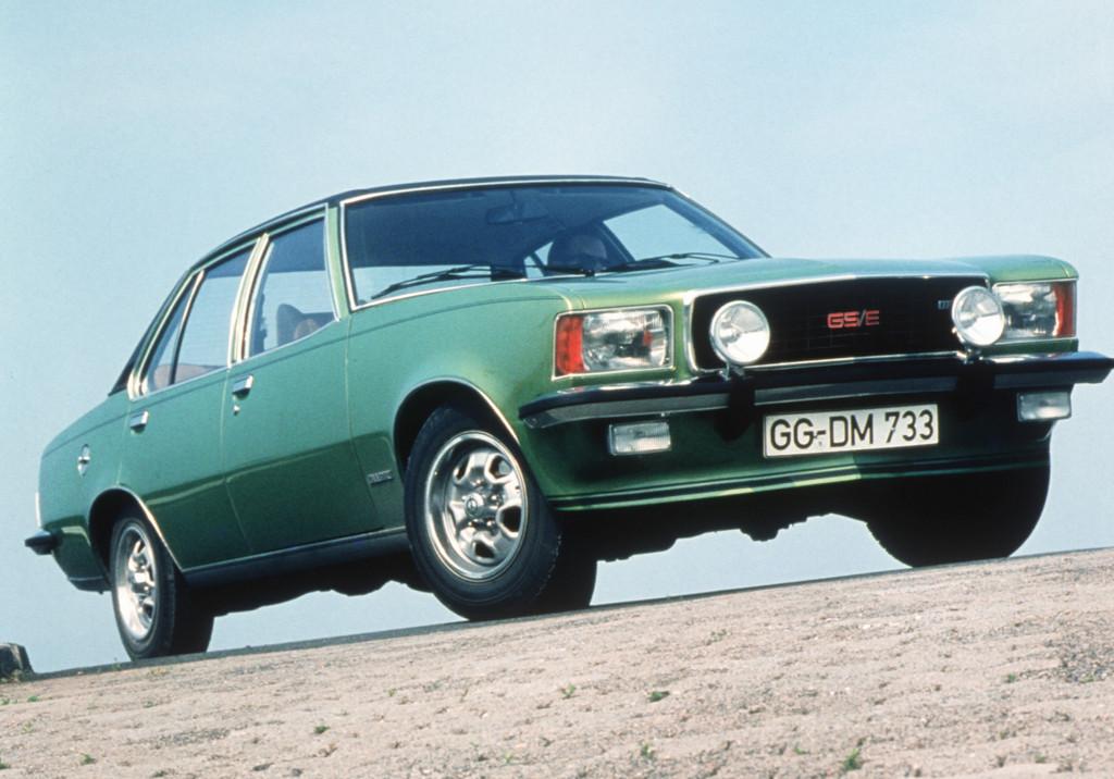 150 Jahre Opel: Opel Commodore GS/E, 1972 bis 1977.