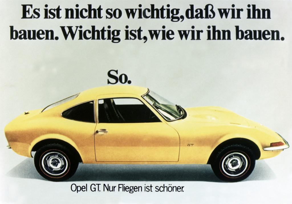 150 Jahre Opel: Opel GT, 1969