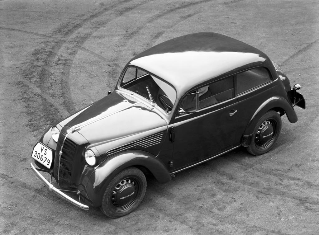 150 Jahre Opel: Opel Kadett, 1936.