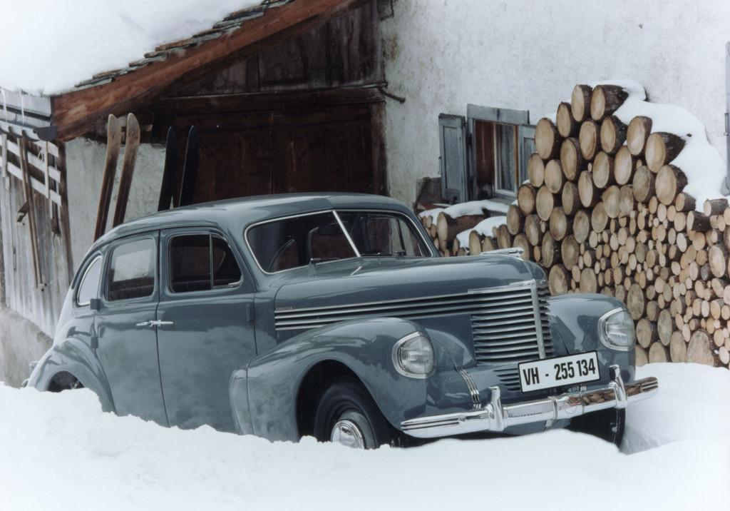 150 Jahre Opel: Opel Kapitän, 1938.