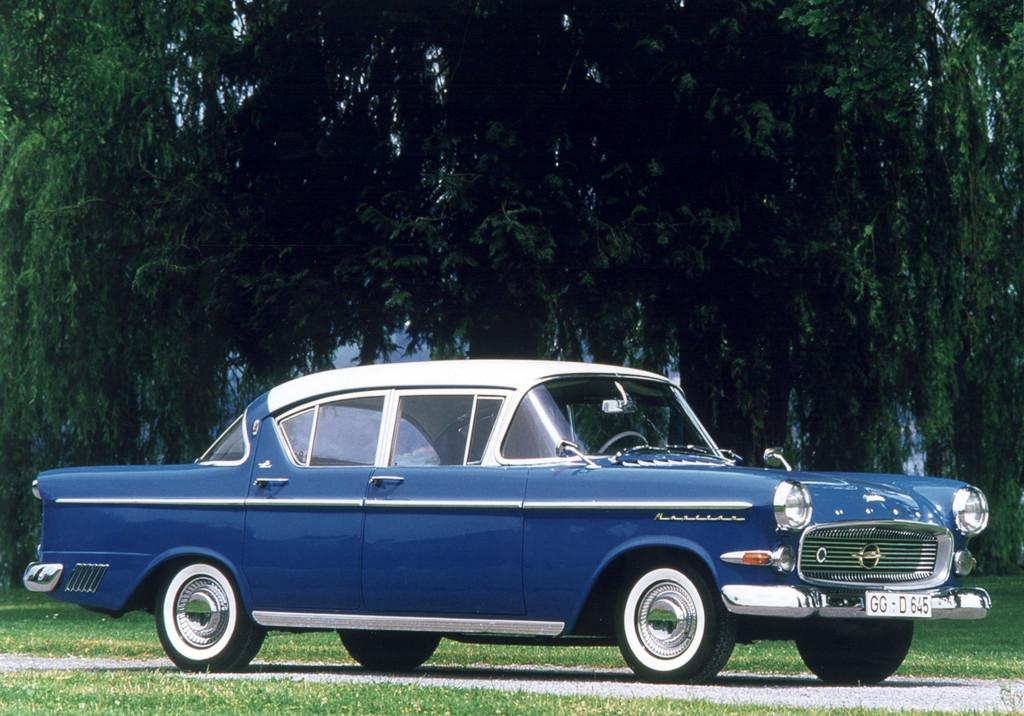 150 Jahre Opel: Opel Kapitän, 1958 - 1959.