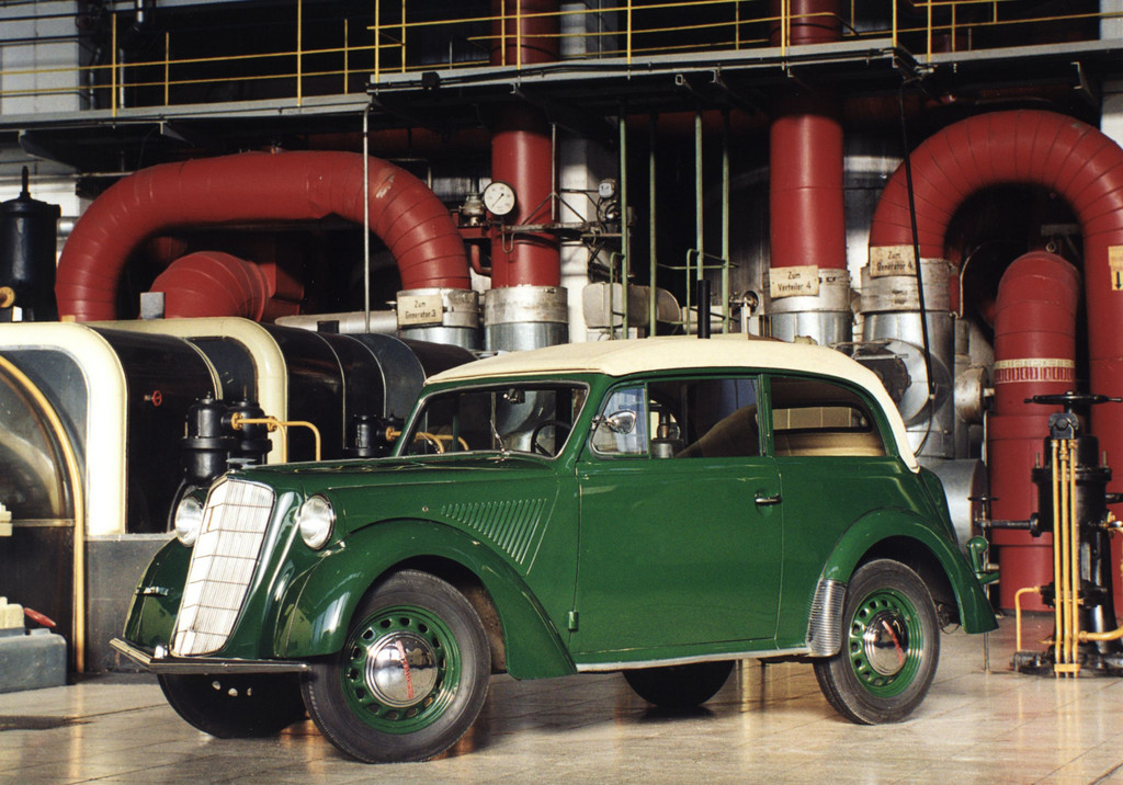 150 Jahre Opel: Opel Olympia Cabriolet- Limousine, 1935.