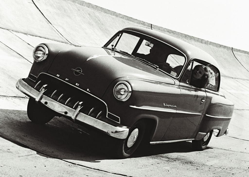 150 Jahre Opel: Opel Olympia Rekord, 1953.