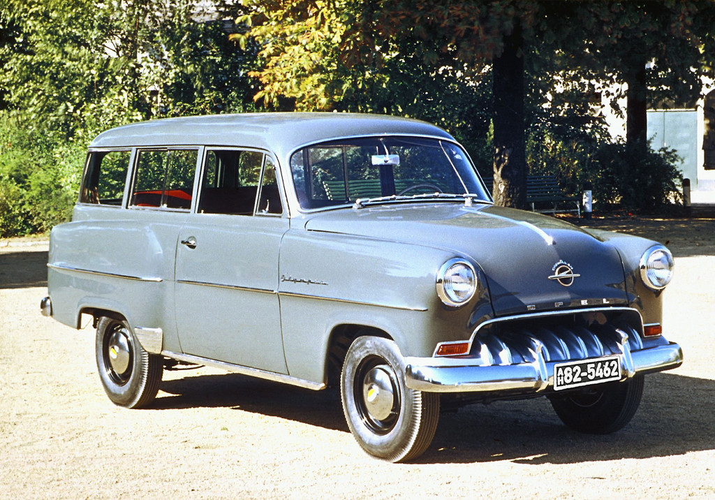 150 Jahre Opel: Opel Olympis Rekord, 1953 - 1954.