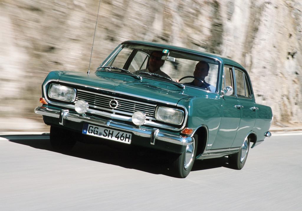 150 Jahre Opel: Opel Rekord B, 1965,1966.