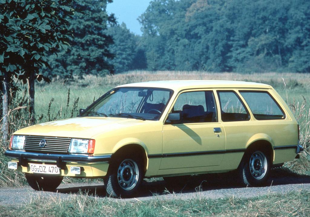 150 Jahre Opel: Opel Rekord E, 1977 bis 1982.