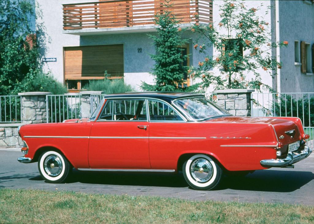 150 Jahre Opel: Opel Rekord P2 Coupé, 1960 bis 1963.