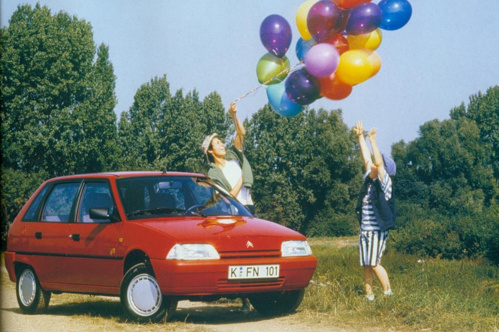 1993 wurde der zweimillionste AX produziert
