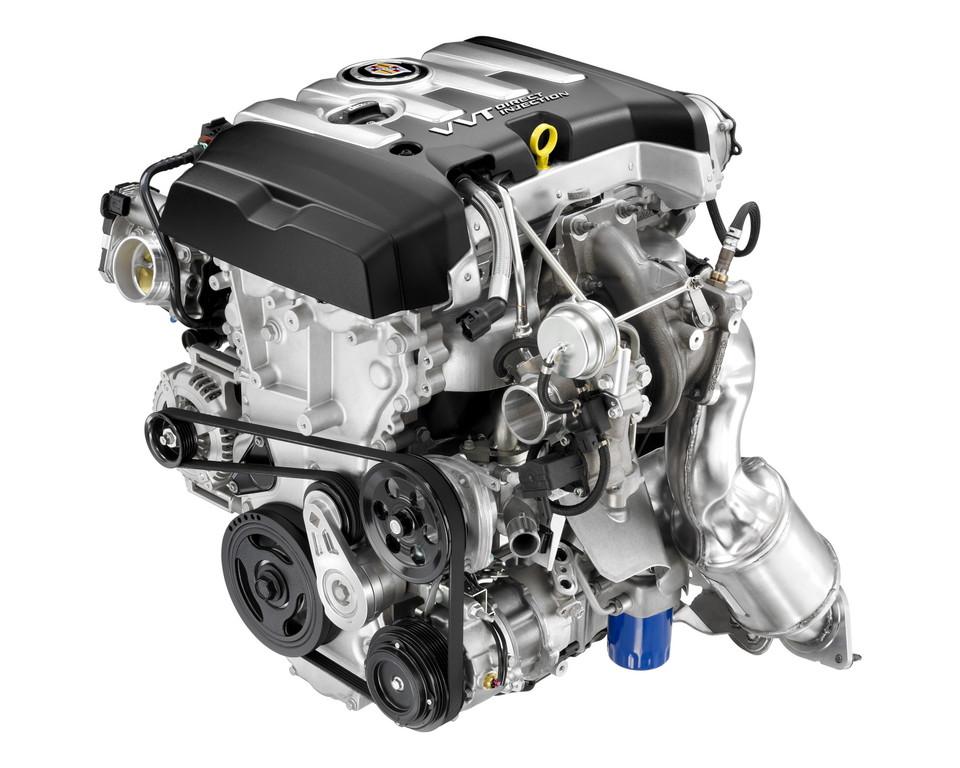 2,0-Liter-Vierzylinder-Turbo von Cadillac.