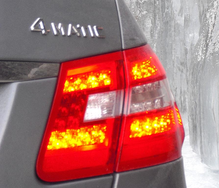 4Matic steht bei Mercedes für Permanentallrad. Fotos: Koch