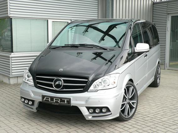 ART Viano Whitepepper: Veredelter Mercedes-Benz Großraumvan