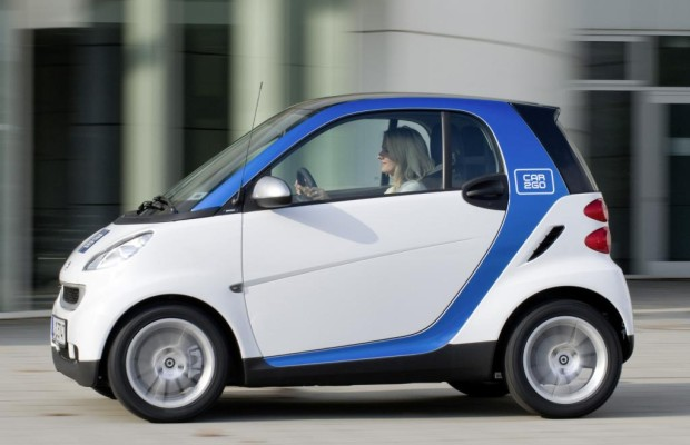 Ab 2012 setzt auch Düsseldorf auf car2go