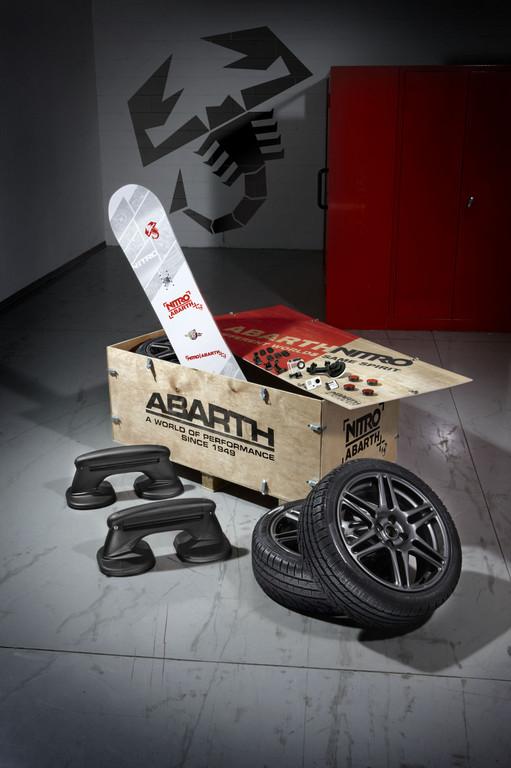 Abarth bringt Winter-Zubehör