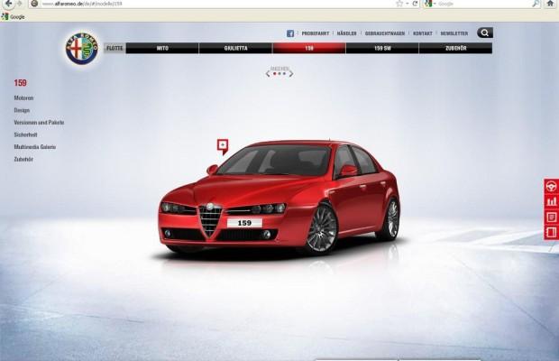 Alfa Romeo launcht neue Website