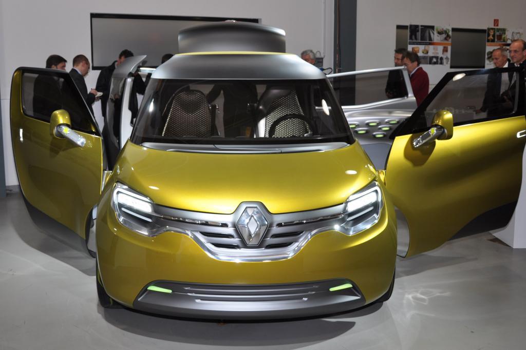 Als Elektro-Konzeptfahrzeug zeigt der Frendzy, wie der nächste Kangoo aussehen könnte
