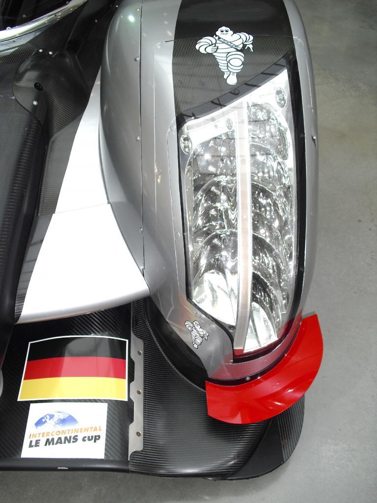 Auch bei Audis Le-Mans-Flitzer kommt es auf moderne Lichttechnik an.