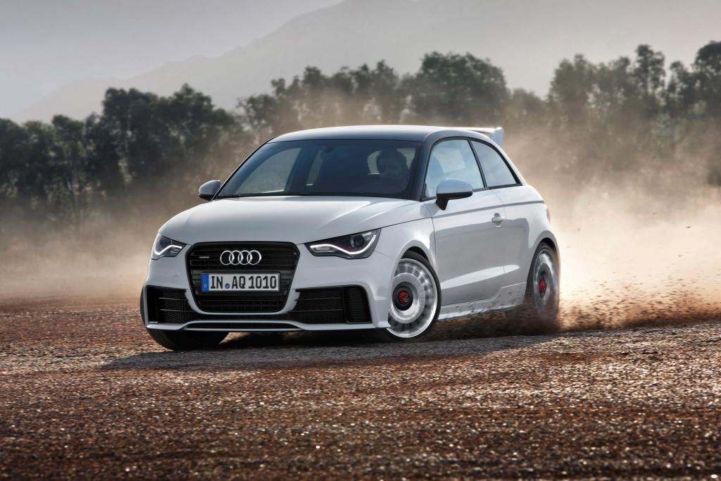 Audi A1 quattro - Stark und selten