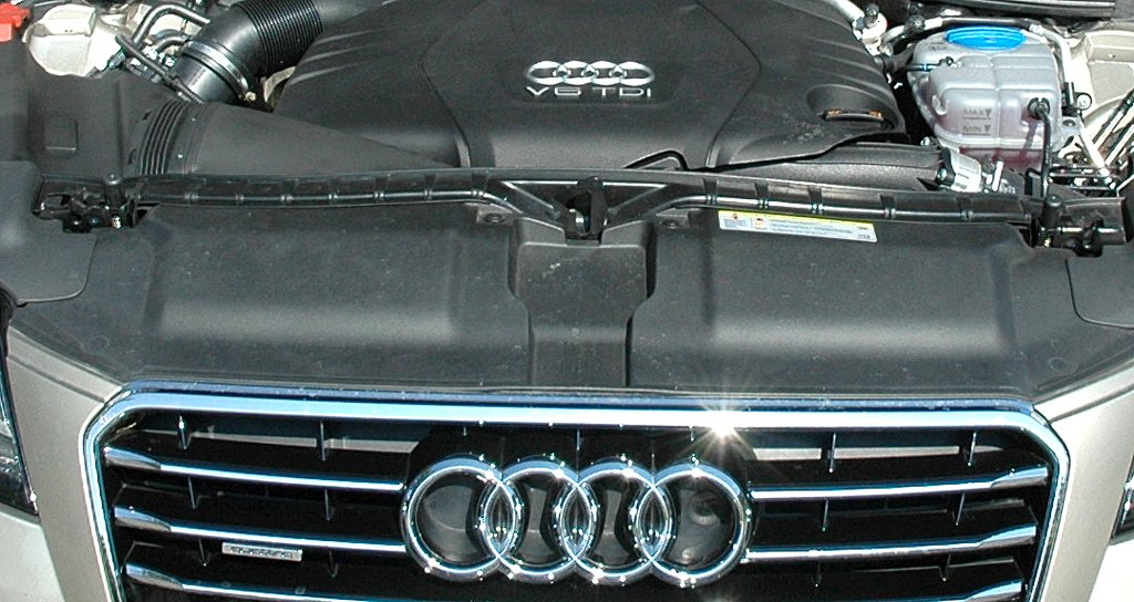 Audi A7 Sportback: Blick unter die Haube auf den ...