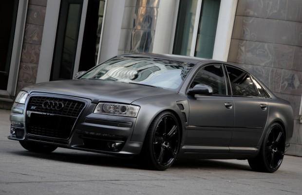 Audi A8 Anderson - Schwarz und grau
