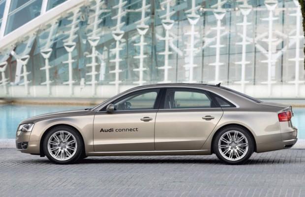 Audi A8 LTE-Mobilfunk - Oberklasse mit schnellem Netz