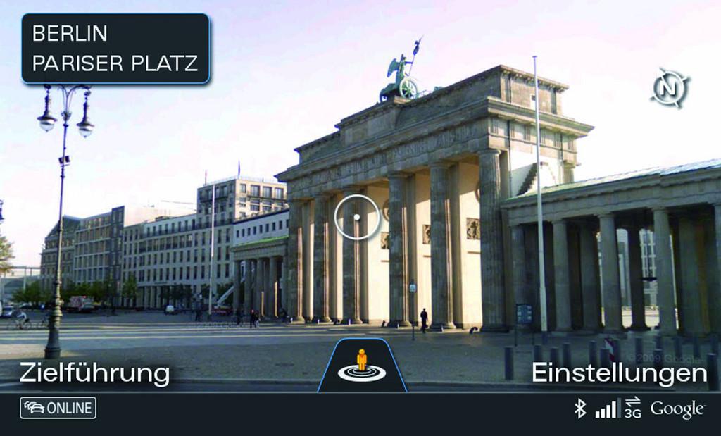 Audi Connect und Google Street View bieten Navigation mit realitätsgetreuer Straßenansichten