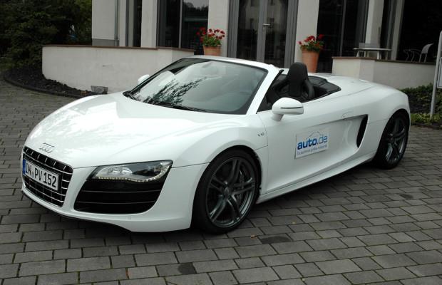 Auto im Alltag: Audi R8 Spyder