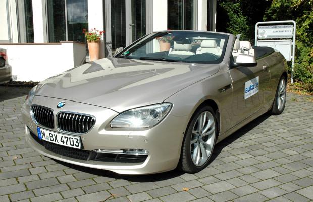 Auto im Alltag: BMW 6er Cabrio