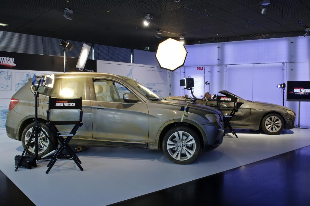 BMW stellte einige Filmautos zur Verfügung