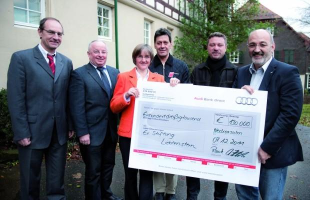Bei Audi kamen 781.000 Euro Weihnachtsspende zusammen