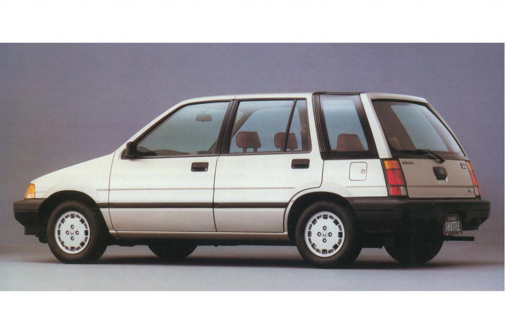 Beliebt war auch der kombi-artige Civic Shuttle