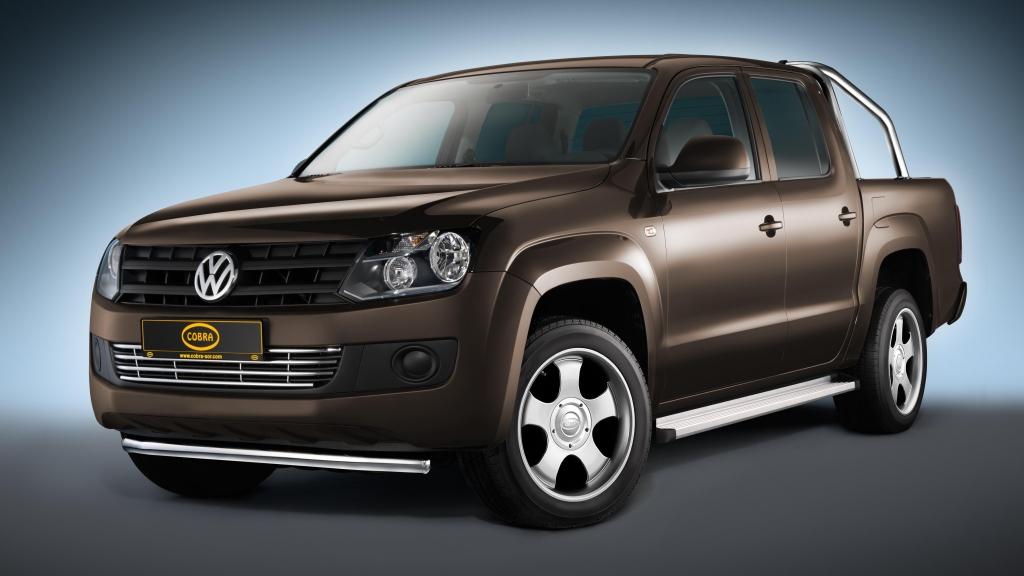 Cobra veredelt VW Amarok: Hardtop, Frontbügel und Alu-Räder für den Wolfsburger Pickup