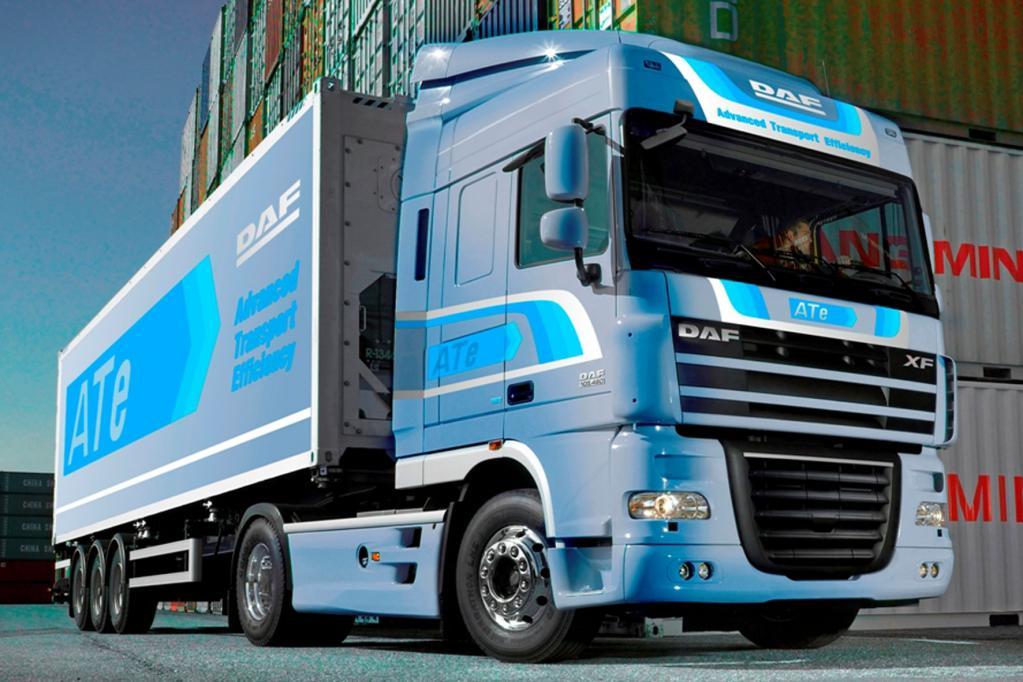 DAF: ATe-Paket verbessert Transporteffizienz