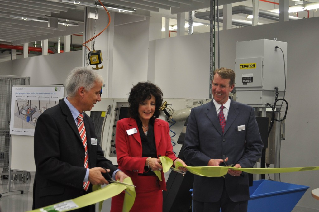 Daimler Trucks eröffnet dritte Prozesslernfabrik