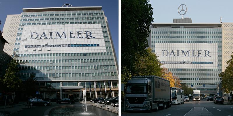 Daimler ist das kreativste Unternehmen bei Marketing und Werbung