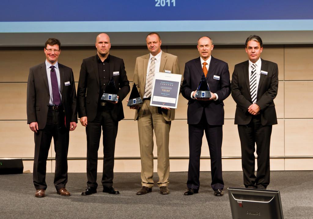 Daimler verleiht European Carrier Awards