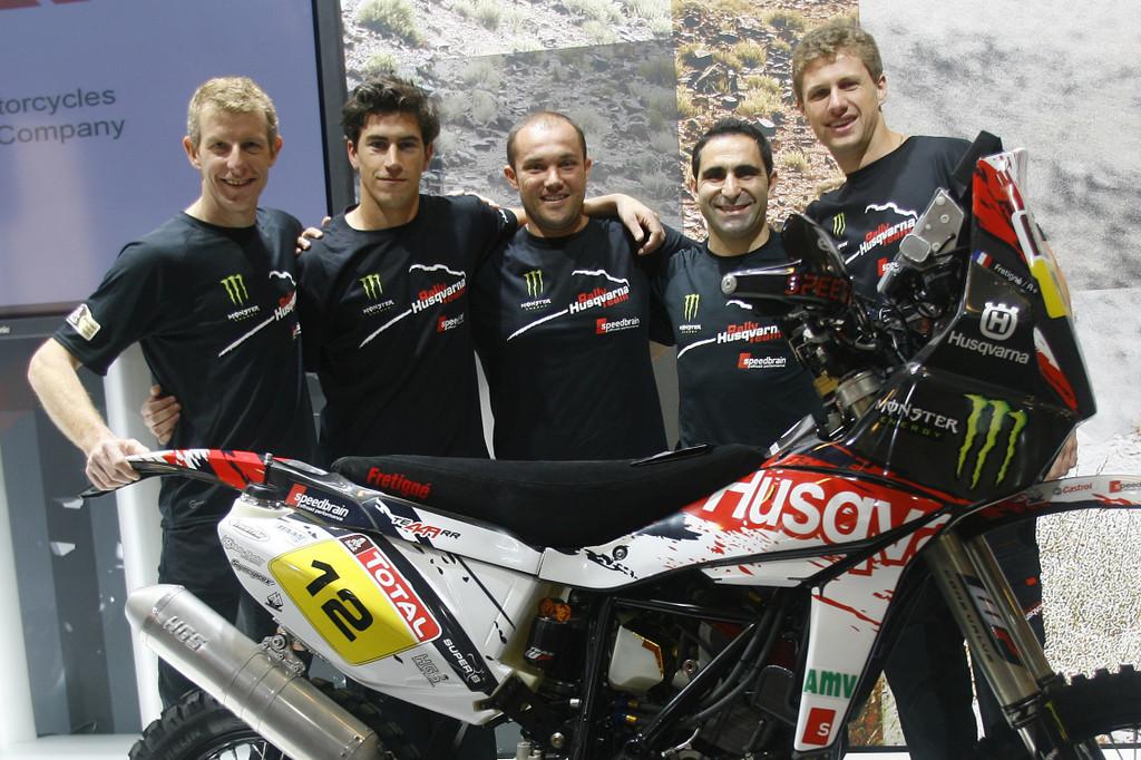 Dakar 2012: Husqvarna startet mit fünf TE 449 RR