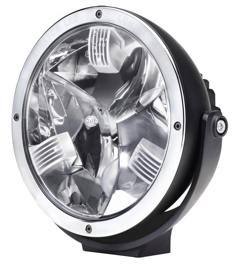 Den ersten LED-Zusatzscheinwerfer brachte Hella jetzt unter dem Namen