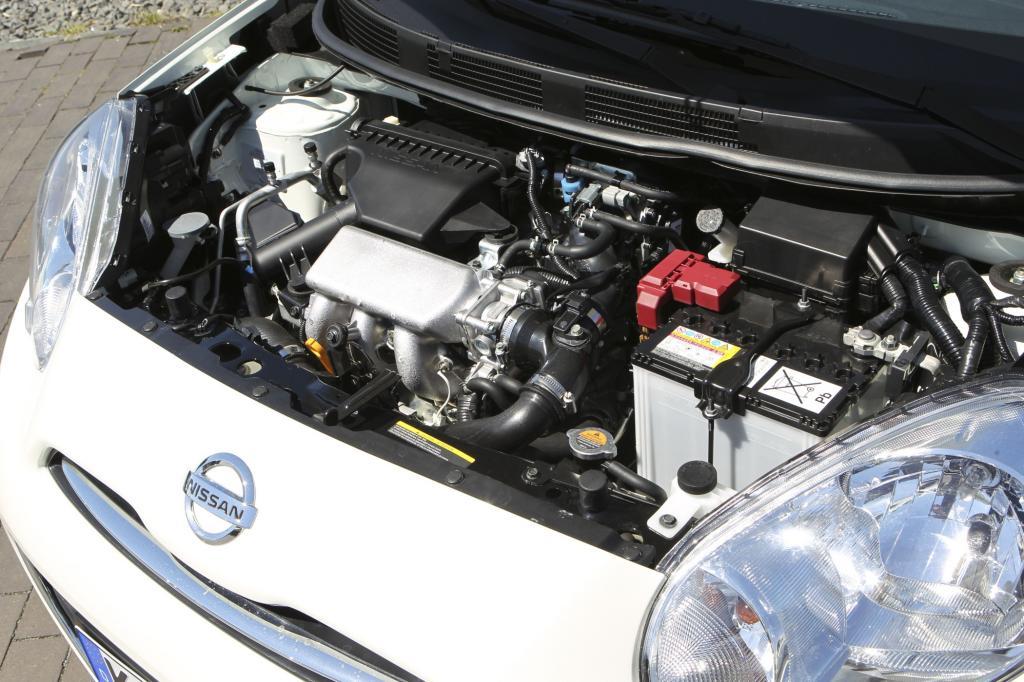 Der 1,2-Liter-Motor kommt auf 80 PS