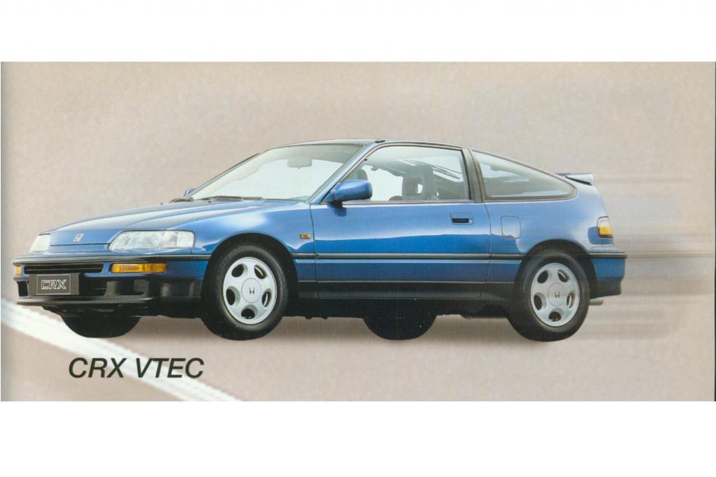 Der CRX VTec kam 1990