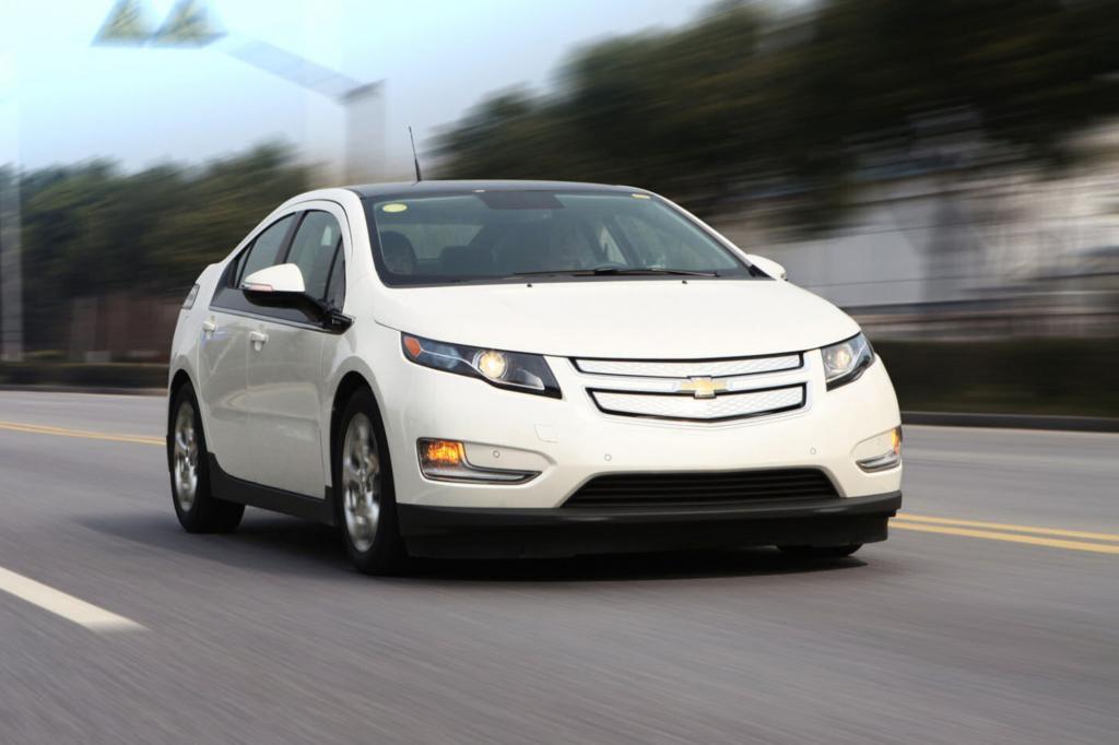 Der Chevrolet Volt ist das Schwestermodell des Opel  Ampera