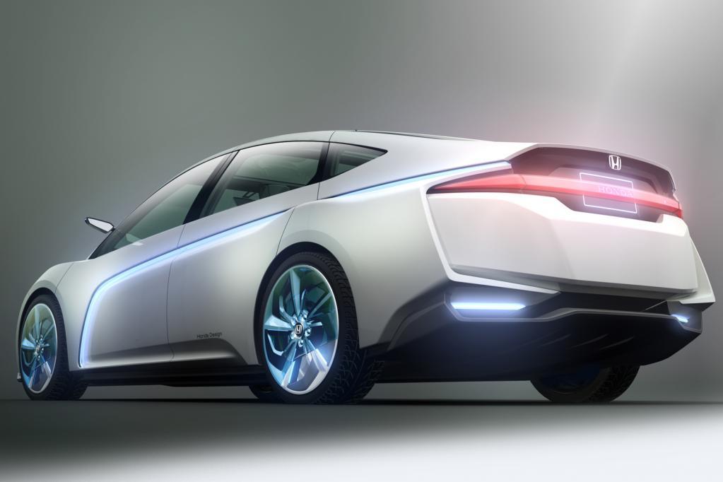 Der Honda AC-X ist das Konzept eines Plug-in-Hybriden für Langstreckeneinsätze, Reichweite über 1 000 Kilometer.